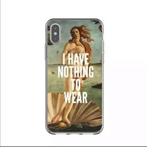 iPhone X/XsMax Birth of Venus Nothing to Wear Case